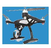 Yuneec 500+Drone 1080p