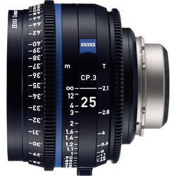NEW-ZEISS CP.3 25mm T2.1 Compact Prime Lens (PL Mount, Feet)